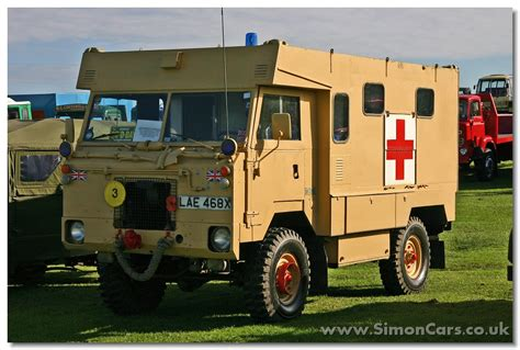 land rover 101 ambulance simon cars land rover van