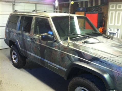 camo jeep cherokee camo paint jobs jeep cherokee forum