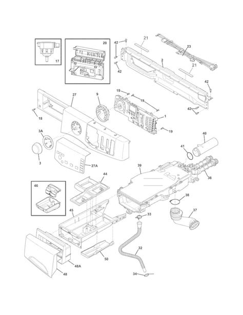 frigidaire dryer parts diagram frigidaire affinity dryer wiring diagram 40 wiring