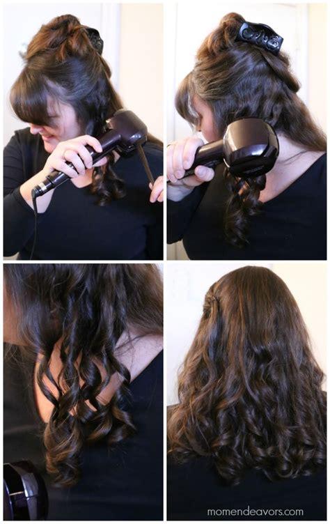 infiniti conair curl secret reviews hair tutorial easy diy curls