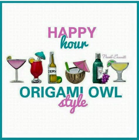 Origami Happy Hour - 673 best origami owl images on origami owl