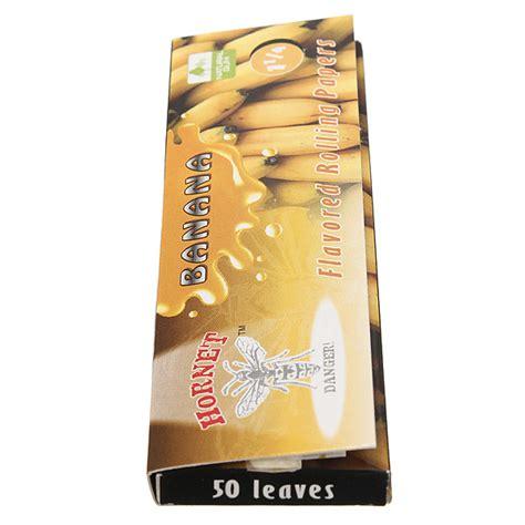 How To Make Rolling Paper Glue - hornet banana flavored cigarette tobacco diy rolling