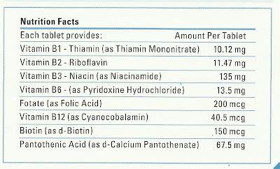 Info Penting Wahana Limited b complex shaklee nutrition facts vitamin kita