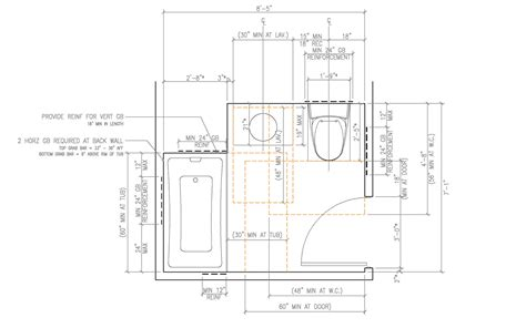 floor plan requirements residential ada bathroom requirements