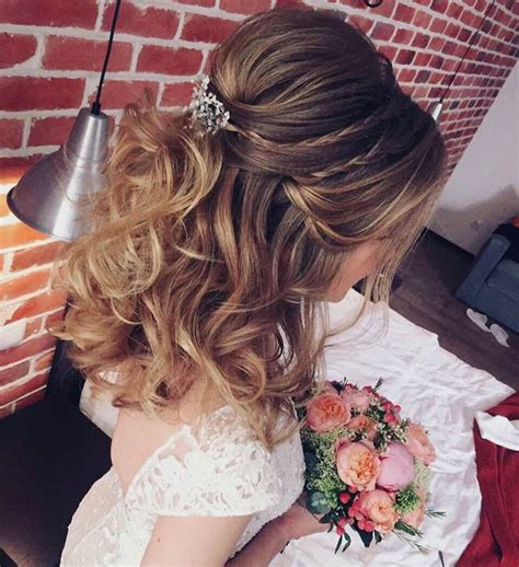 Wedding Hairstyle Ideas Half Up by 33 Half Up Half Wedding Hairstyles Ideas Koees