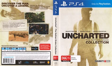 Uncharted The Nathan Collection R All Ps4 Ori can someone a scan of front back cover from