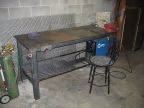 welding bench ideas welding table h