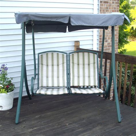 2 seater garden swing replacement canopy walmart 2 seater rus4860 replacement swing canopy garden winds