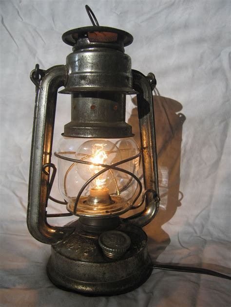 antique oil ls converted to electric convert a kerosene lantern into an electric l yes