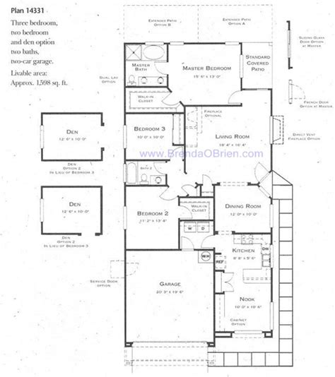 continental homes floor plans continental ranch sunflower santa rita floor plan