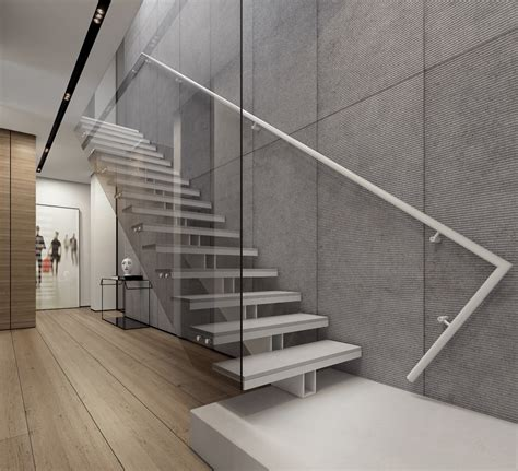 contemporary staircases 4 contemporary home visualizations with sleek sophistication
