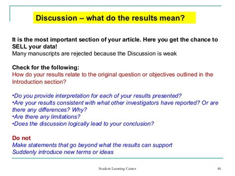 writing a discussion section of a research paper research paper discussion section cut dgereport826 web