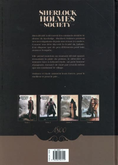 Sherlock Holmes Society Tome 2 Bdfugue Com