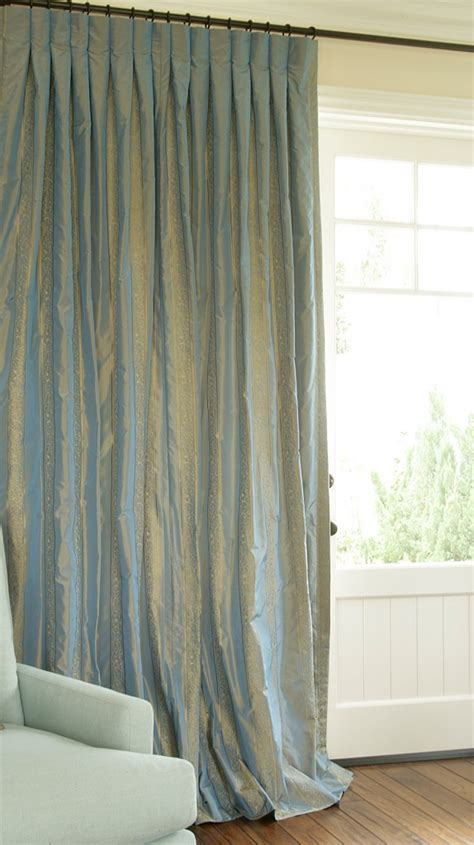 Blue Silk Drapes Silk Drapes Silver Dupioni Silk Gorgeous Home Mira2