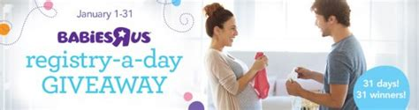 Babies R Us Registry Giveaway - babies r us registry a day giveaway daily prizes