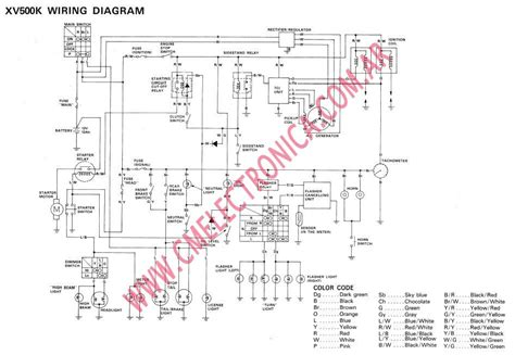 wiring diagram yamaha virago 400 yamaha automotive