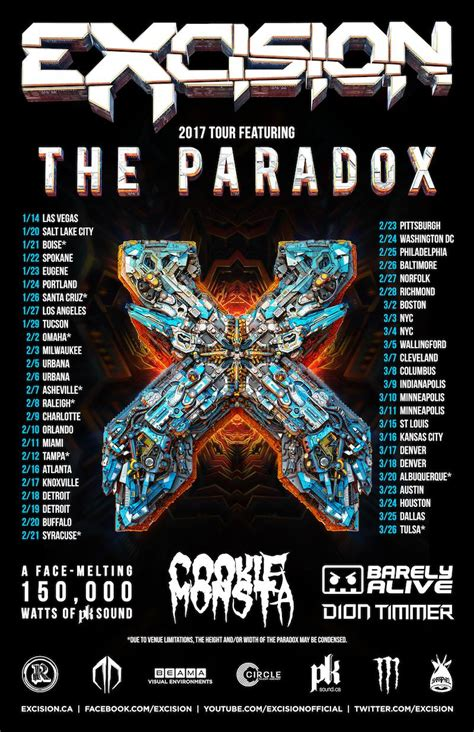 excision house of blues boston 03 02 2017 boston ma
