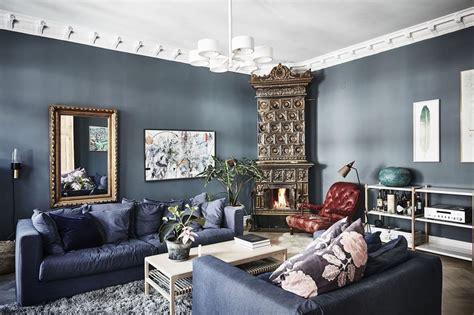 grijs interieur blauw en grijs voeren de boventoon in dit interieur roomed