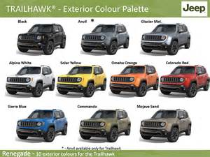 2015 jeep renegade colors jeep trailhawk 2015 colors 2017 2018 best cars reviews
