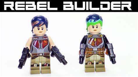 Lego Sabine Wren Wars Bootleg lego wars minifig comparison sabine wren
