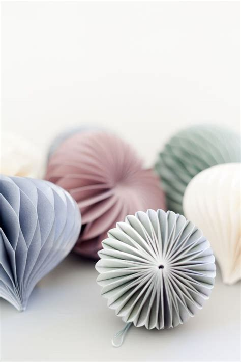 How To Make Paper Balls For Decoration - diy paper origami decoration balls seasonal
