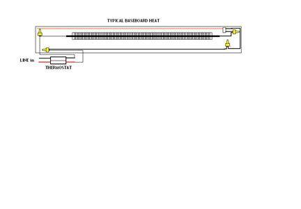 baseboard heater f2543 wiring diagram baseboard wiring diagram