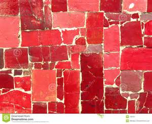 Bath Shower Seats red tiles mosaic random pattern stock image image 730161