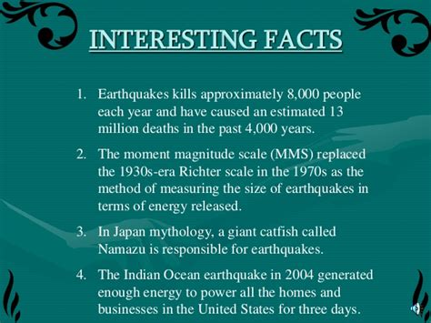 earthquake statistics natural disasters 1