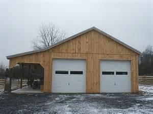barn this 28 x36 x12 pole barn has 10 wide lean to pole barn garage my 30x40 pole barn garage pics the