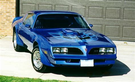 Blue 78 Trans Am by 78 Firebird Trans Am Blue Wheels