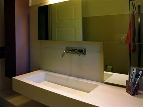 vasca corian lavabo bagno in corian top mobiletto in legno