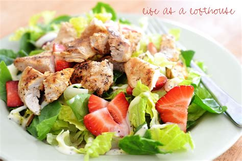 chicken salad strawberry chicken salad life in the lofthouse