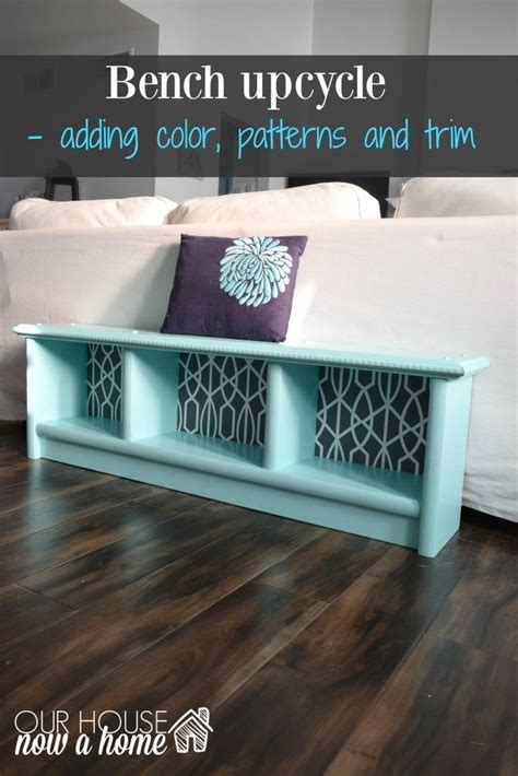 Best Entryway Bench How To Upcycle A Bench Adding The Details Entryway
