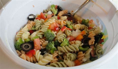 pasta salda zesty italian pasta salad food and wine pinterest