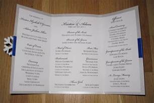 Handmade Wedding Programs - increasing the satisfaction of your guests through wedding