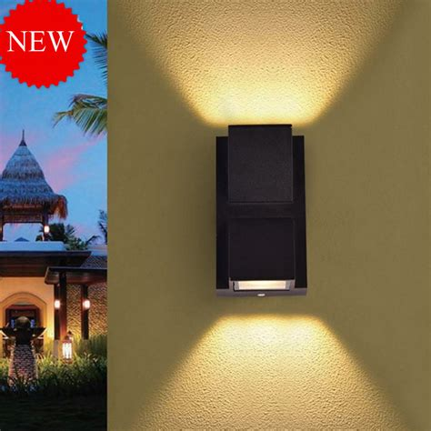 Lu Hias Led Model Tirai jiawen 6w 10w villa corridor wall lights outdoor waterproof led wall l up and lighting