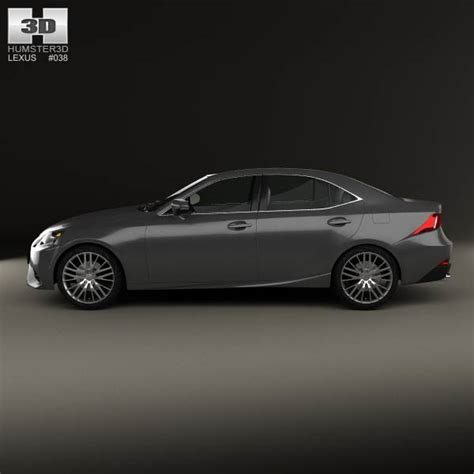 lexus models 2013 lexus is xe30 2013 3d model humster3d