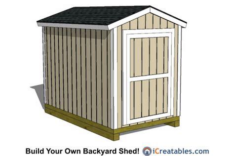 6 X 10 Storage Shed 6x10 Shed Plans 6x10 Storage Shed Plans Icreatables