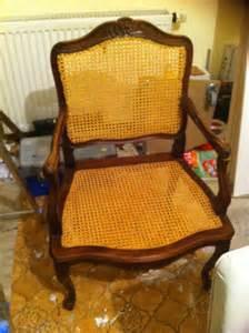 chaise ancienne en bois et en osier le de chinons