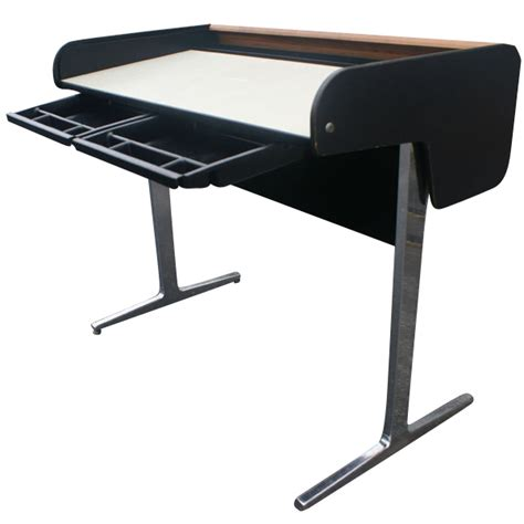 herman miller george nelson office roll up desk