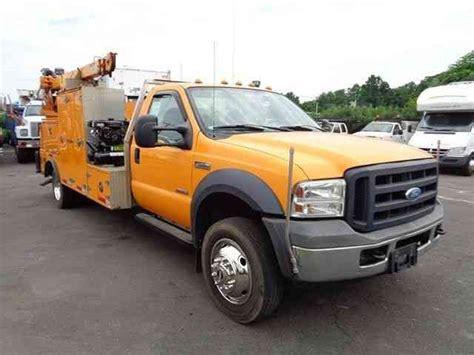 ford mechanics ford f550 service mechanics crane truck diesel 2006