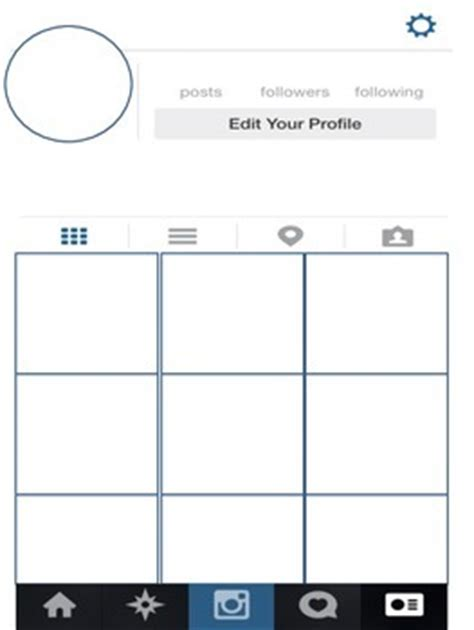 Instagram Templates Pdf Packet Includes Comments Page By Nicole Kraake Instagram Profile Picture Template