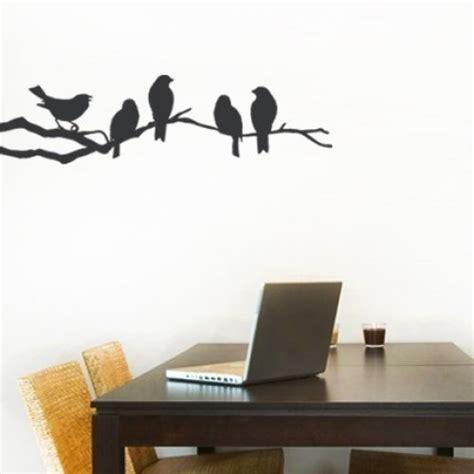 birds on branch tree vinyl wall art sticker decal art birds on a branch decal vinyl wall sticker