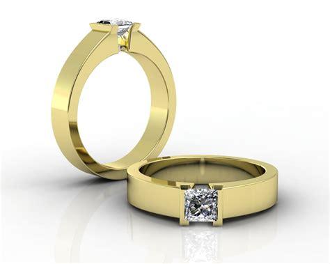 Cincin Emas Kuning 4 10 cincin tunangan cantik untuk wanita