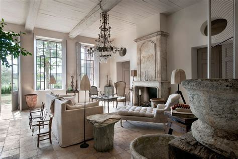 modern french country farmhouse nice with glass vases