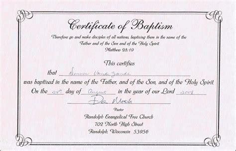 water baptism certificate template editable baptism certificate template certificate234