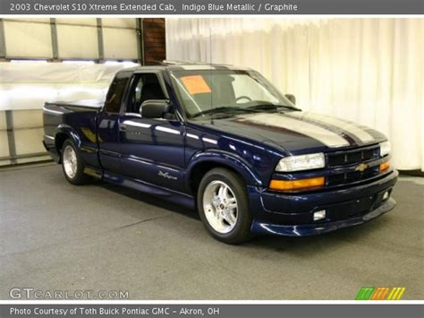 2003 chevrolet s10 for sale indigo blue metallic 2003 chevrolet s10 xtreme extended