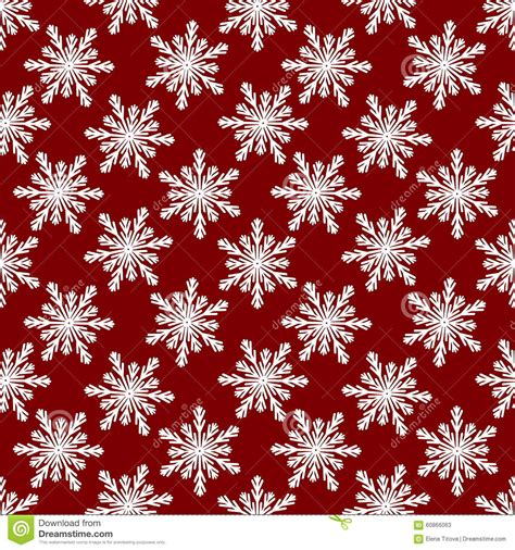 christmas pattern red white christmas seamless pattern from white snowflakes on red