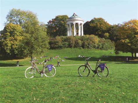 Englischer Garten Radfahren by Stadtrundfahrt Mit Dem Rad Kultiges M 252 Nchen Weis S Er