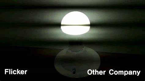flicker test led bulb other companies led bulbs